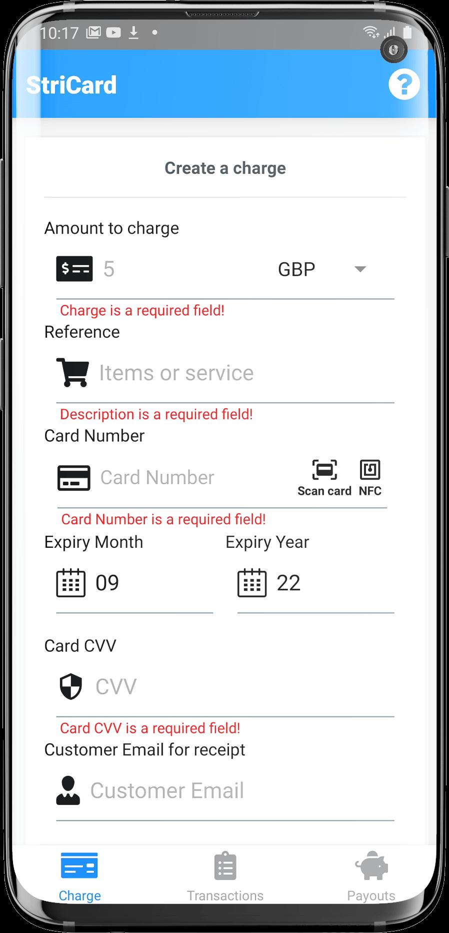 StriCard App